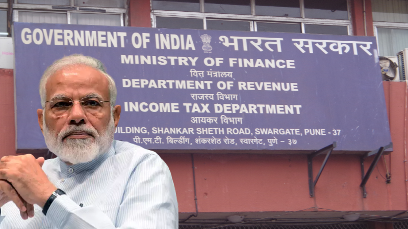 CBDT takes action against three IRS officers for controversial tax report