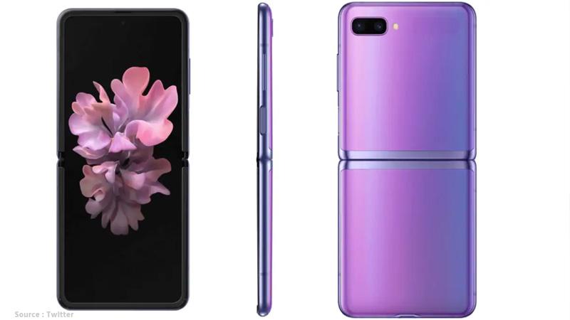 samsungs foldable smartphone galaxy z flip teaser announced during telecast oscar