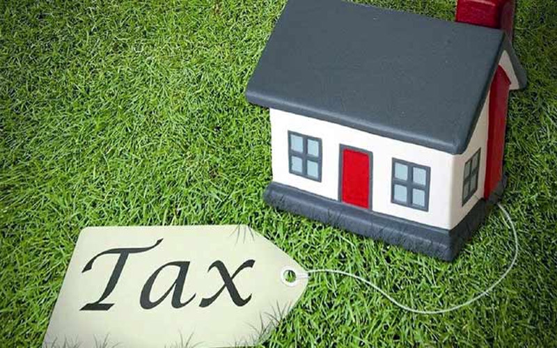 Neglect in online property tax