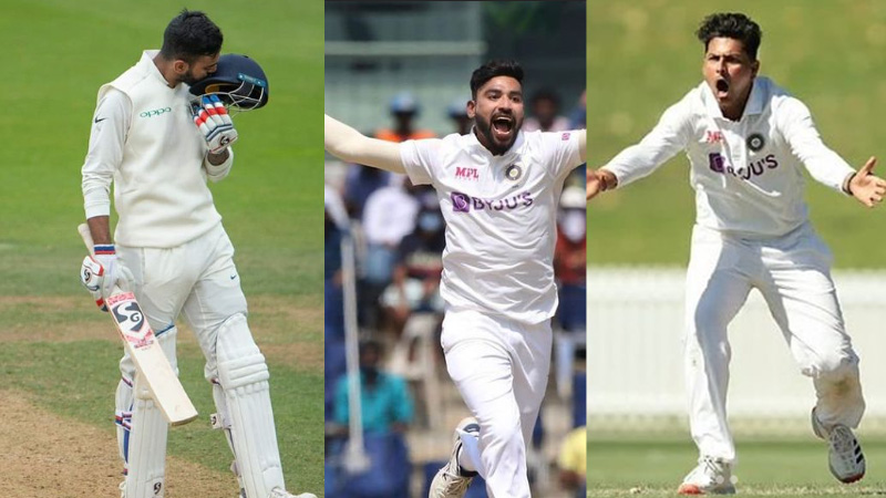 these 3 players can get place in fourth test in Ahmedabad