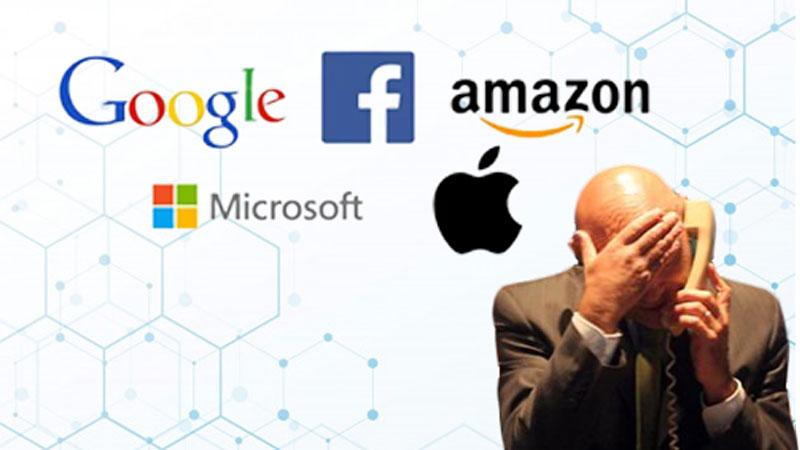 Coronavirus threat crashes top global tech companies market capital