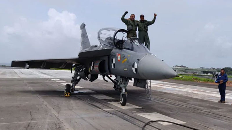 tejas lands on ins hansa india becomes sixth country to make such landing