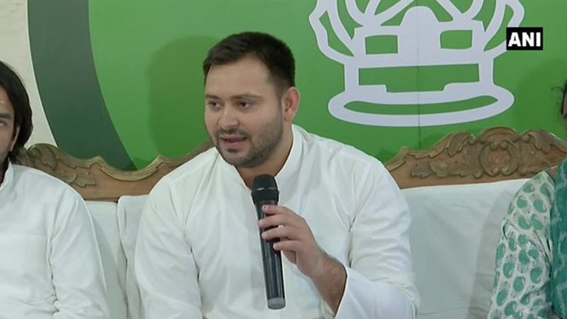 patna opposition boycotts swearing in of nitish government will tejaswi yadav not be involved in ceremony