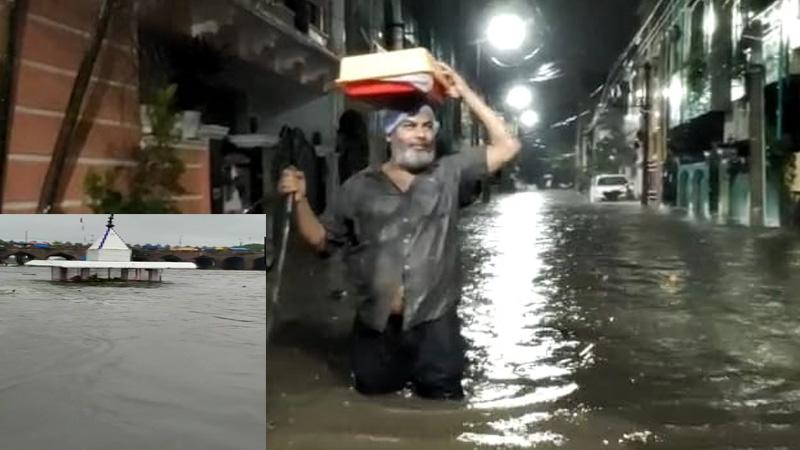 telangana hyderabad rain fall death toll mohammedia hills asaduddin owaisi