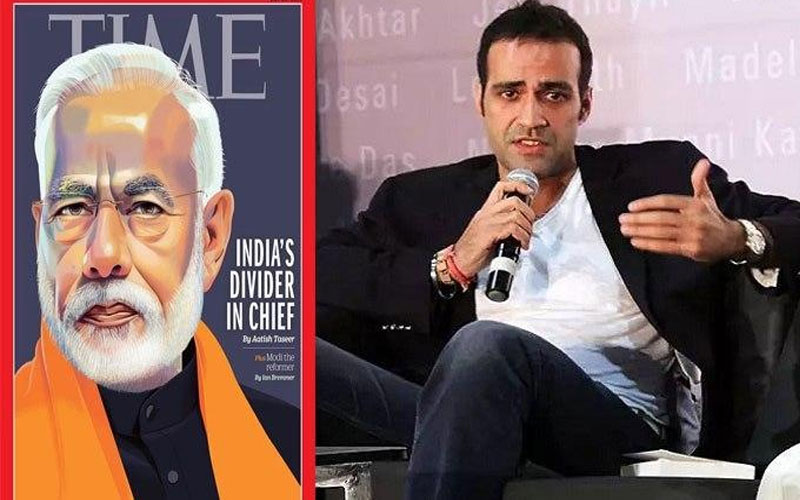 time article disputes bjp leader sambit patra leasing about author aatish taseer at press conference