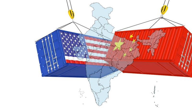 India benefits from USA and china trade war wins 755 millions worth of export amid trade tensions