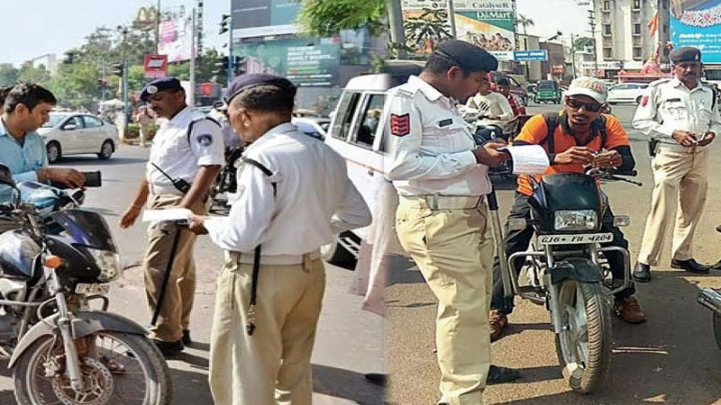 Gujarat new traffic rules fine authority head constable and RTO officer