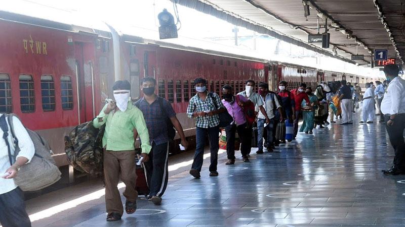 passenger train service standard operating procedures delhi station lockdown home ministry