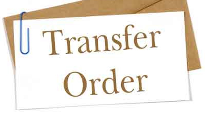 Assistant Professor Class 2 cadre 54 employees transfer ordered