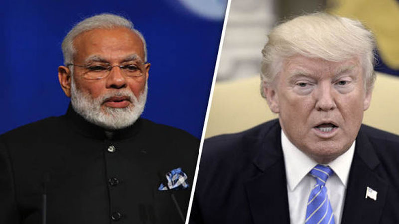 telephone conversation between prime minister modi and donald trump