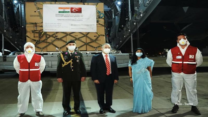 turkey sent medical aid to india aginst covid 19 why recep tayyip erdogan help india