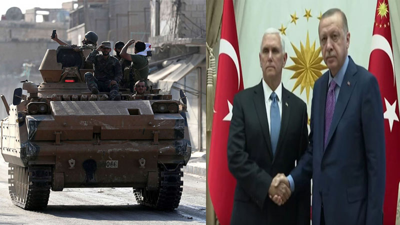 US, Turkey agree to cease-fire to allow Kurdish forces to retreat