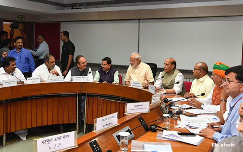 PM Narendra Modi Will Chair Meeting Of Heads Of Various Political Parties Of Parliament
