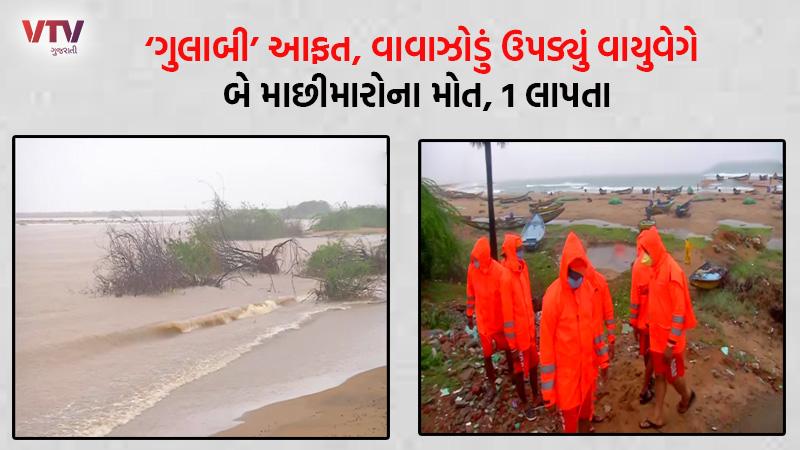 2 fishermen in Andhra Pradesh killed in Gulab storm, one missing