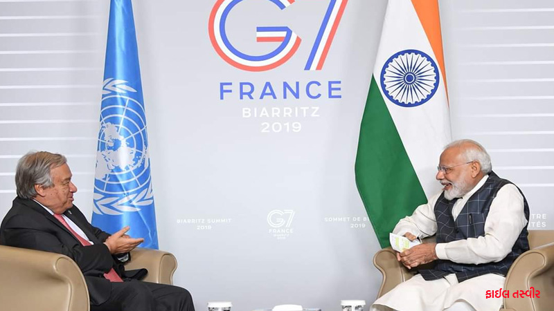 important for india and pak to de escalate both militarily and verbally says un chief