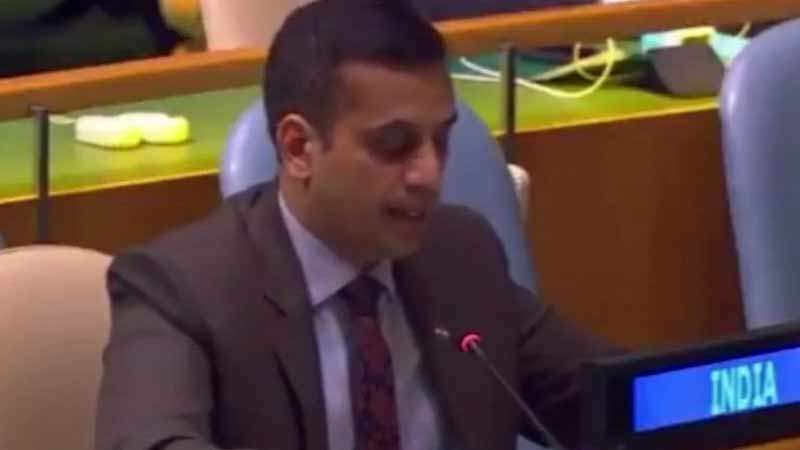 India Slams Pakistan For Violating UN Resolution