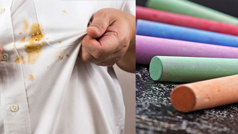 Try these uses of chalk at home for the daily life