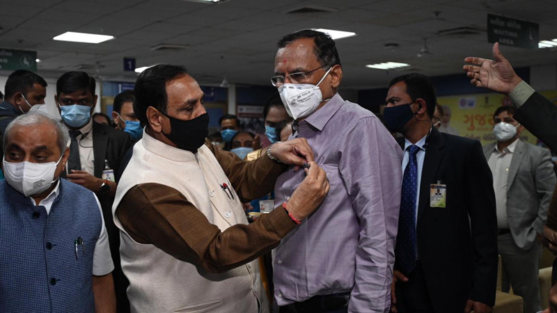 Corona Vaccine start in Gujarat