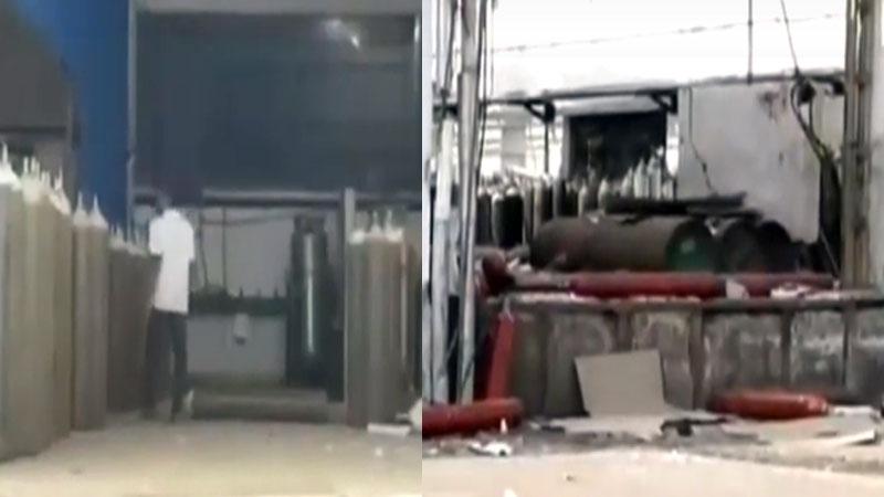 Vadodara company blast police two arrested