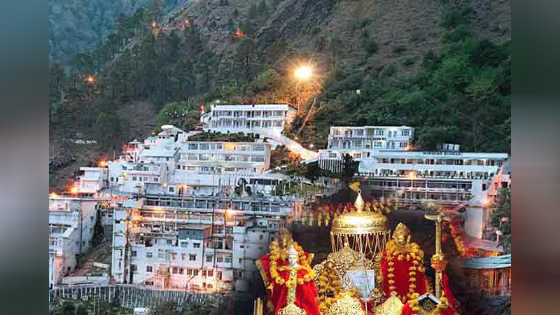 vaishno devi most richest temple of india 500 crore donation every year