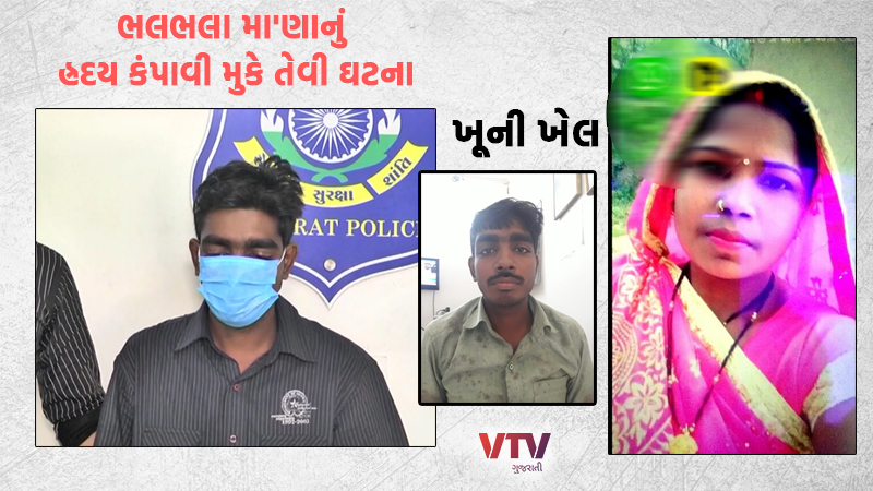In Valsad's heartbreaking incident, the husband returned to the market with his wife's head in his hands.