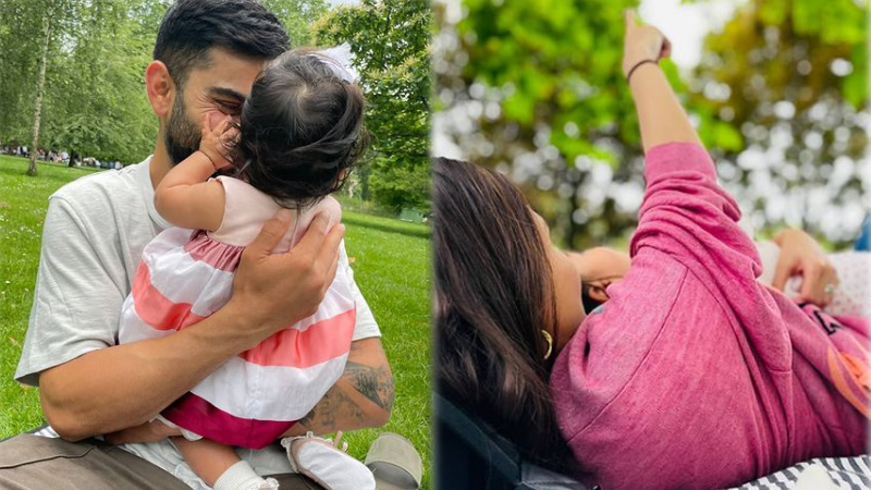Anushka Sharma Celebrates Daughter Vamika 6 Months Birthday With Husband Virat Kohli