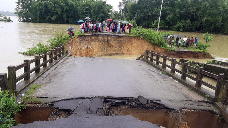 36 lakh people affected by floods in assam 92 deaths