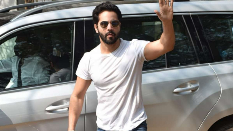 varun dhawan car meets with minor accident on the way to alibaug no one injured