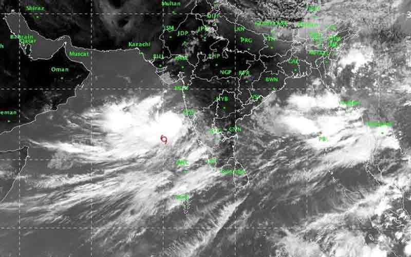 Vayu Cyclone Heavy Rain Gujarat State
