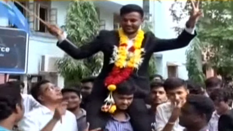 Vadodara MS University Student Union election results Announce