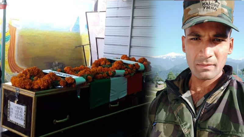 Vadodara Army man aarif pathan martyred near LoC