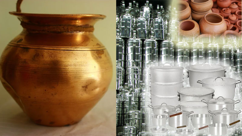 Effects of different metal material vessels on our health