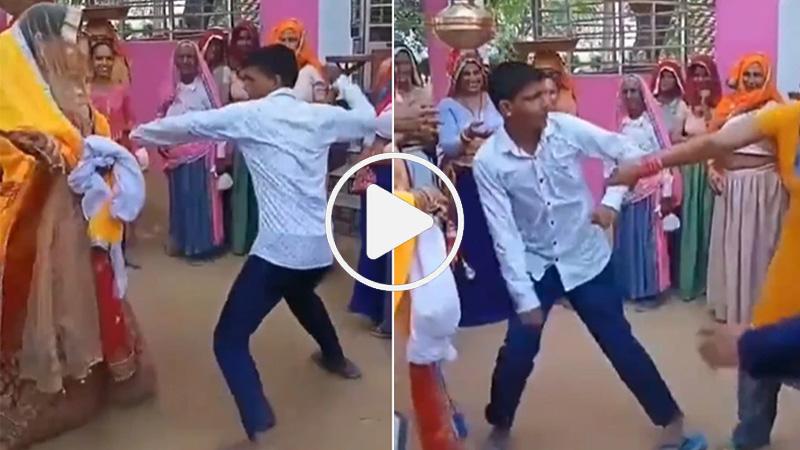 devar bhabhi video devar beating bhabhi video goes viral