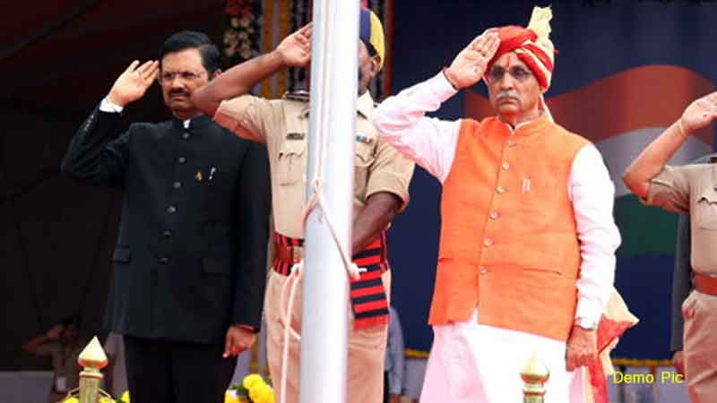 15 august Independence Day 2020 CM Vijay Rupani