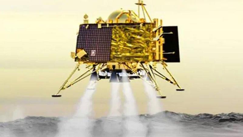 isro chandrayaan 2  vikram lander communication break 335 meter above moon surface