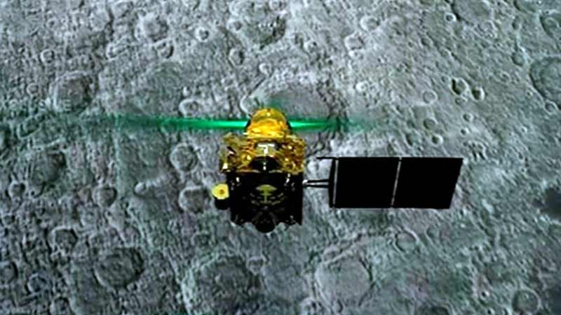 Chandrayaan 2 NASA LRO Fails to Spot Crashed Vikram Lander due to long shadows over landing site