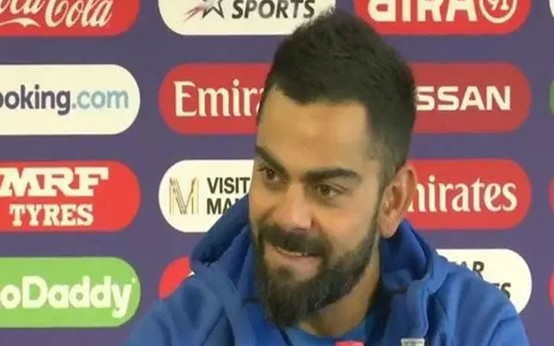 virat kohli press conference world cup 2019 semi final new zealand