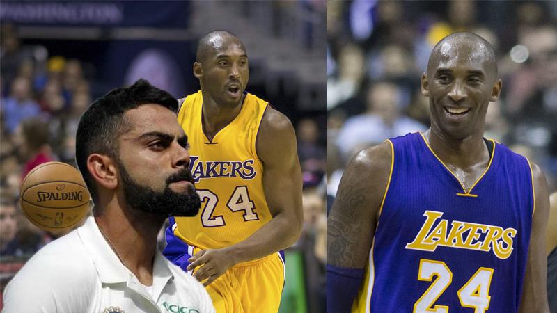 Virat kohli and other celebrities pay tribute to legendary NBA player Kobe Bryants death