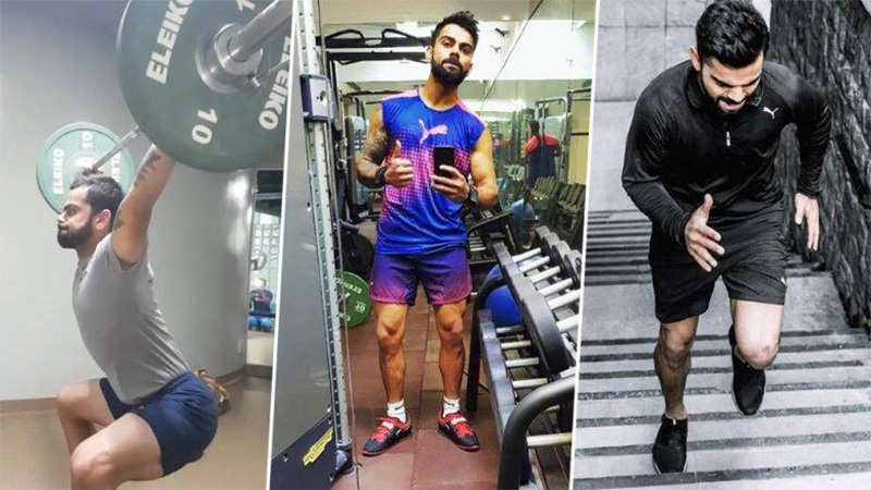 virat kohli share workout video ahead of odi series against west indies