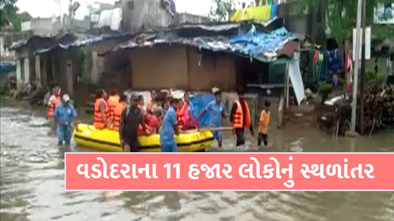 Vadodara flood crisis once again over Vishwamitri river