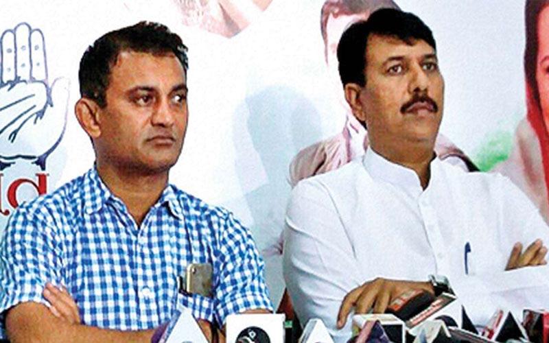 Congress whip Rajya Sabha election gujarat congress MLA's