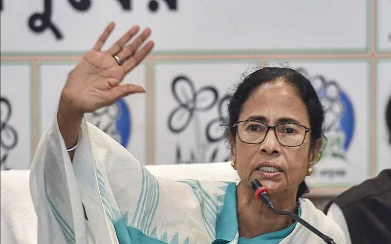 Mamata Banerjee Hits Out At EC And Modi-Shah