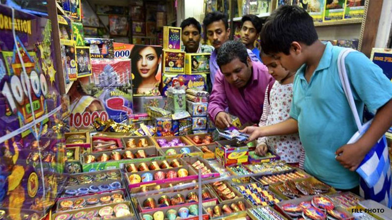 diwali firecrackers price hike in gujarat