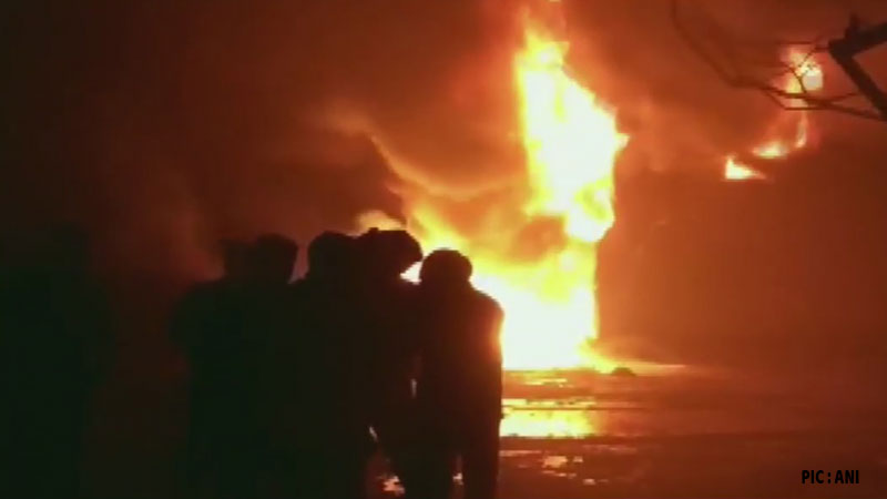fire broke out in chemical factory of bhiwandi