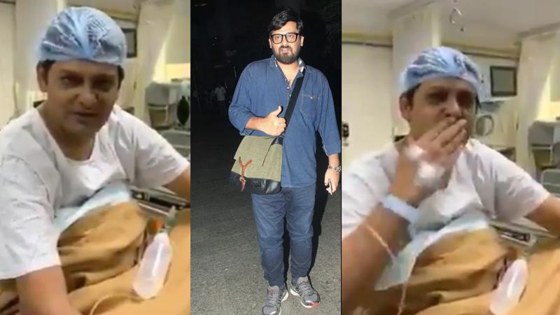 Sajid khan old video of singing song in hospital goes viral