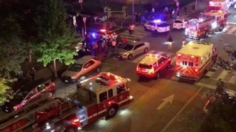 Multiple people shot on streets of Washington, DC  local media