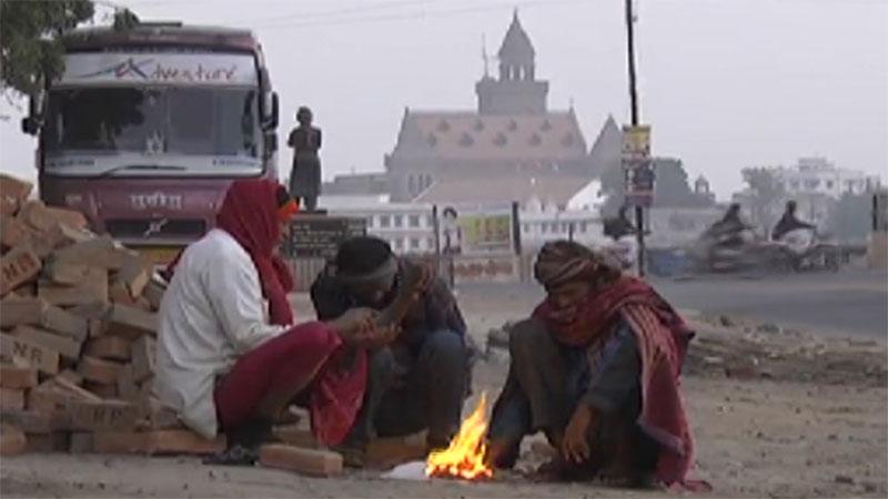 Cold wave in Gujarat winter december 2019