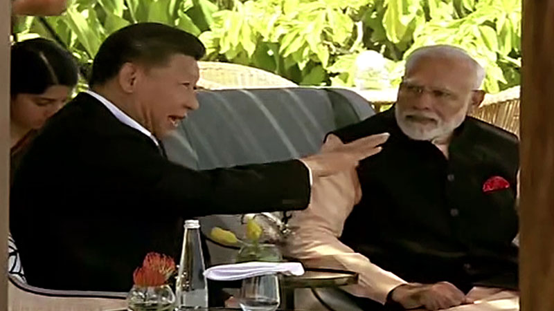 india refuses to be part of china s one belt one road at sco