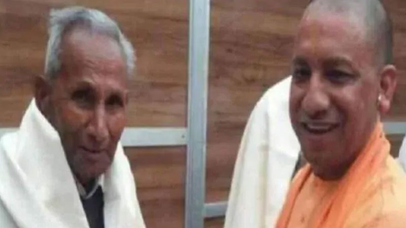 up cm yogi adityanath father anand singh bisht admitted to aiims delhi