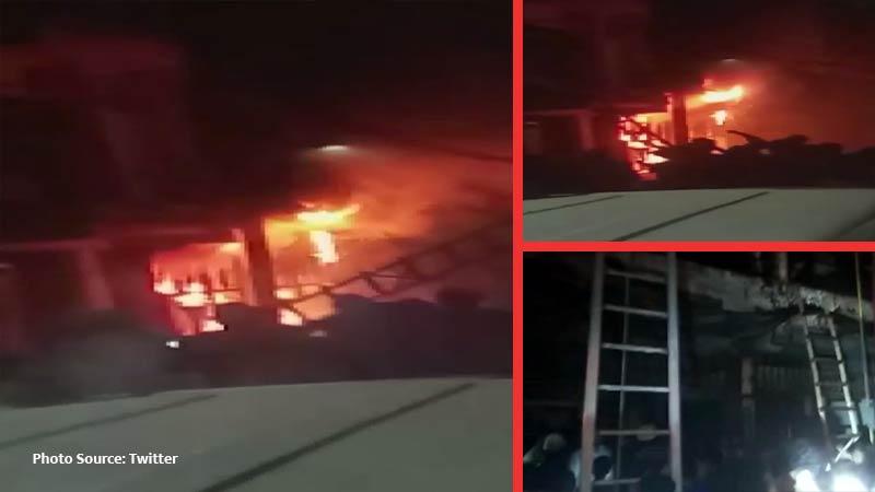 Delhi fire 5 dead 11 hurt as massive blaze engulfs Zakir Nagar building